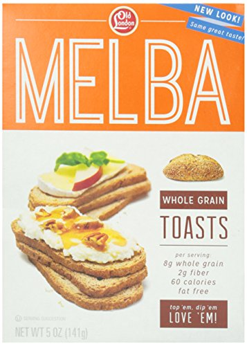 Old London Whole Grain Toast, 5 oz - Melba Toast