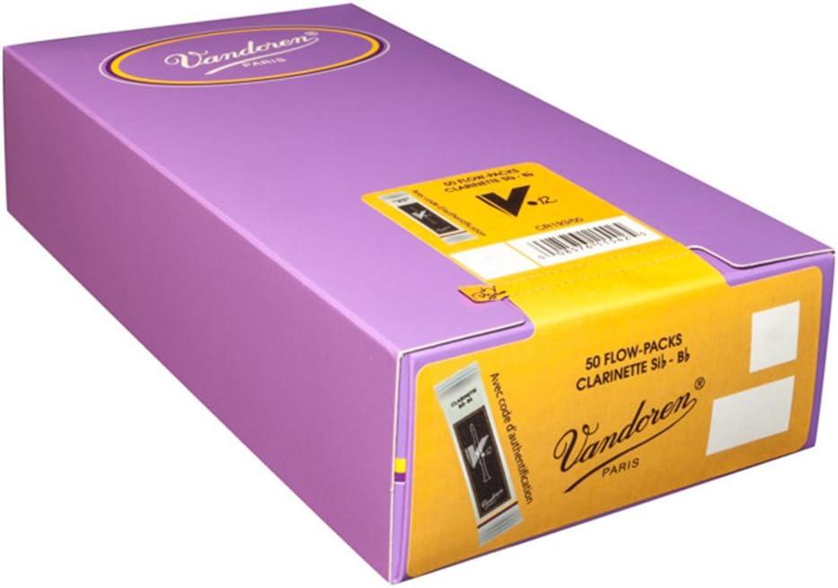 Vandoren Reeds Clarinet Bb 2.5 Traditional 50 BOX