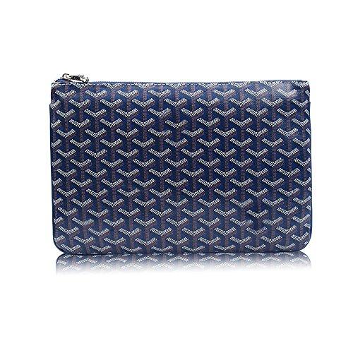 Stylesty Designer Clutch Purses for Women, Pu Envelope Fashion Clutch Bag, Women Handbag (Medium, Borland1)