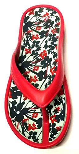 fonseca Rouge pour 40 Femme Tongs de Rouge EU dqxTw8dI