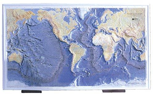 Trench Ocean Floor - Hubbard Scientific Ocean Floor Raised Relief Map, 26