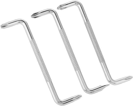 Toolzone Kit de 4 tournevis coud/és