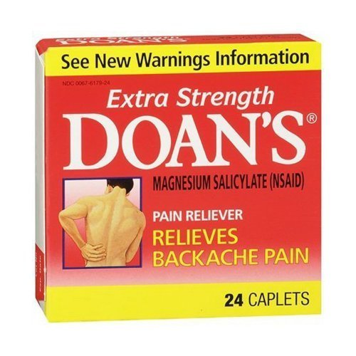 Doan's Extra Strength Pain Reliever Caplets, 24 Count by Doans