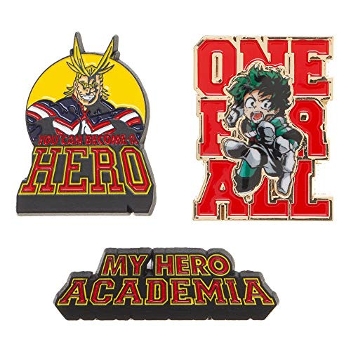 My Hero Academia Pins Anime Lapel Pins My Hero Academia Accessories Anime Pins ()