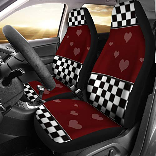 Active-N-Healthy Heart Print Car Seat Covers ()