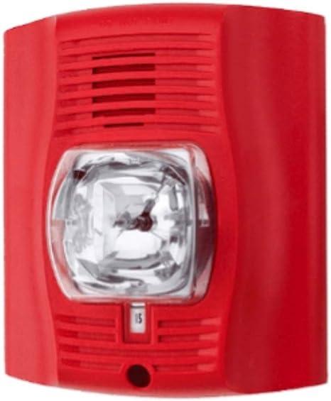 Indoor Standard-candela Red New SPECTRALERT SR  Strobe Wall Mount