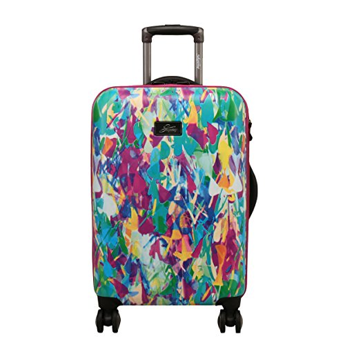 Skyway Haven 24-Inch Spinner Upright Suitcases, Festive Shade