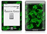 St Patricks Clover Confetti - Decal Style Skin (fits 4th Gen Kindle with 6inch display and no keyboard)
