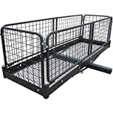 Ultra-Tow Steel Cargo Hauler with Removable Basket - 500-Lb. Capacity, 60in.L x 20in.W x 20in.H