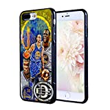 (iPhone 7) EGOCENTRIC DESIGN & CO. Warriors Championship Fan Art Basketball Sports TPU Rubber Silicone Phone Case