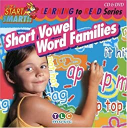 Let\'s Start Smart Learning To Read- Short Vowel Word Families