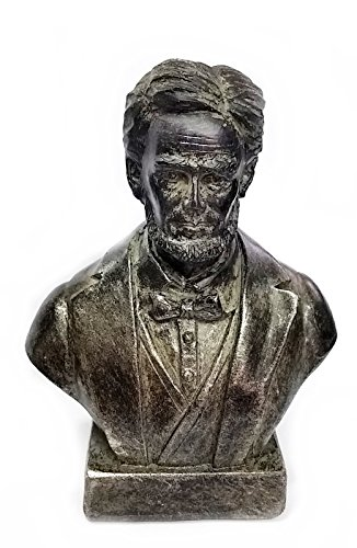 Bellaa 22760 Abraham Lincoln Statues Bust The 4""