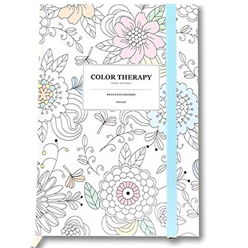 Color Therapy Anti Stress Adult Coloring Stationery Hardcover
