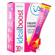IdealBoost Weight Loss Drink Packets by IdealShape. The Perfect Hunger Blocking, Fat Burning, Weight Loss & Energy Blend. Five TINY Calories Per Serving. Delicious Taste Combined with Caffeine, Green Tea, B Vitamins, Slendesta (Powerful Hunger Blocker) an