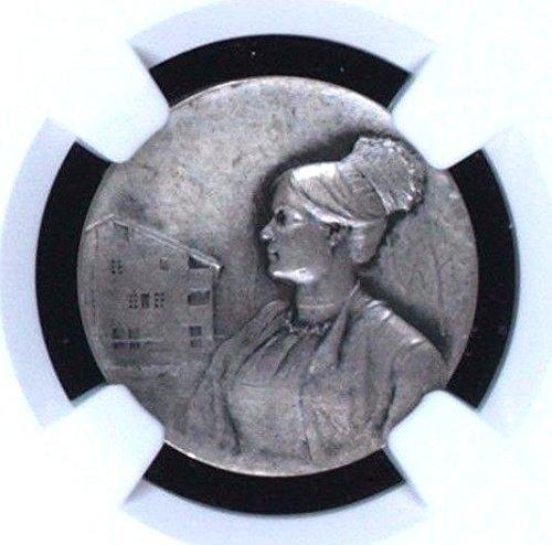 1911 CH Rare Swiss 1911 Silver Shooting Medal Uri Erstfel coin Good