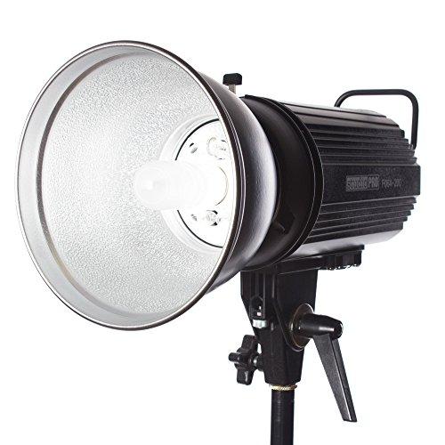 Fovitec StudioPRO SDX-200 Photography Studio Monolight, Professional Studio Strobe Flash Lighting Head 200 Watts/s by Fovitec