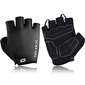 RIVBOS Motorcycle Bicycle Mountain Bike Gloves for Men Women Cycling Riding Driving Sports Outdoors CHG001