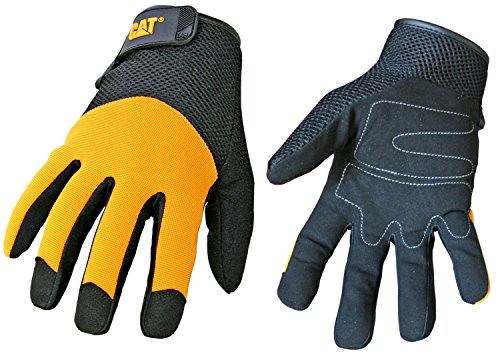 caterpillar-cat012215j-padded-palm-utility-glove-with-a-mesh-spandex-back-black-palm-and-yellow-back