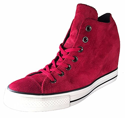 outlet wiki Converse Women's Chuck Taylor Lux Mid Hidden Platform Wedge Dahlia/Black/Egret/Burgundy clearance best sale sale limited edition best seller online qtVGdX