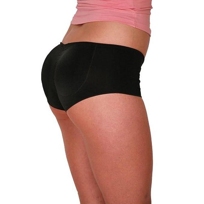 Ebony booty in panties