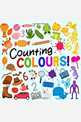 Counting Colours!: A Fun Picture Puzzle Book for 3-5 Year Olds Paperback