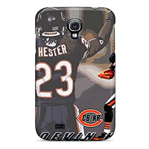Protective Hard Cell-phone Cases For Samsung Galaxy S4 With Custom Realistic Chicago Bears Image CharlesPoirier