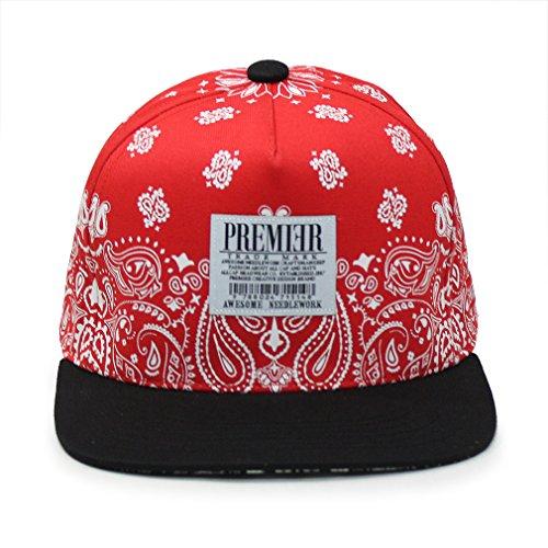 Premier Red Scarf Snapback Hat