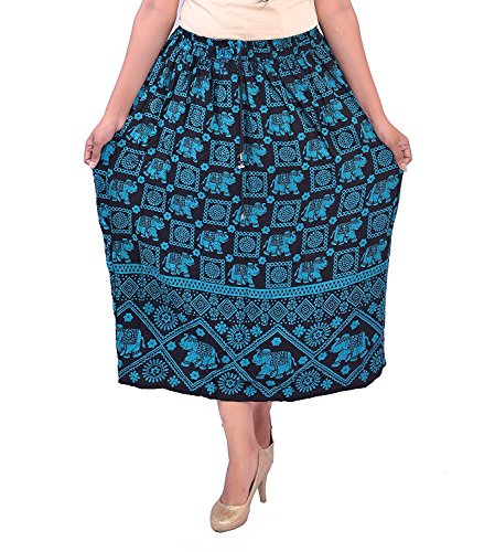 Indian Handicrfats Export N2CREATIONS Printed Women Regular Skirt