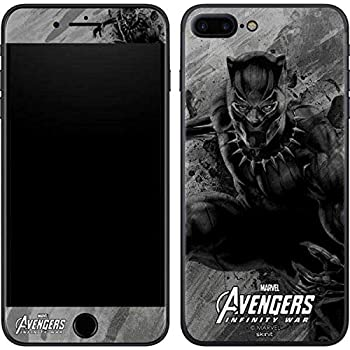 new concept 09739 2ba15 Skinit Black Panther Chroma iPhone 8 Plus Skin - Officially Licensed  Marvel/Disney Phone Decal - Ultra Thin, Lightweight Vinyl Decal Protection