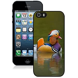 New Personalized Custom Designed For iPhone 5s Phone Case For Beautiful Mandarin Duck Phone Case Cover