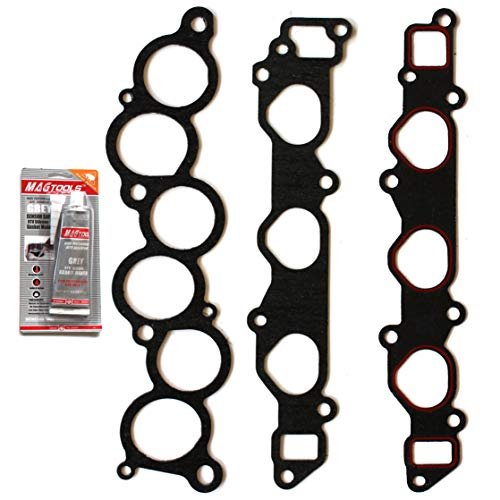 Gaskets Toyota Replacement - cciyu Intake Manifold Gasket Kit Replacement fit for Highlander Camry Toyota Sienna ES300 Lexus RX300 MS92766 94-06
