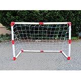 Set of 2 Junior Soccer Goals for Kids (4x3-Feet)