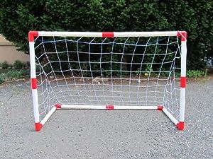 Amazon.com: Set of 2 Junior Soccer Goals for Kids (4x3-Feet): Toys ...