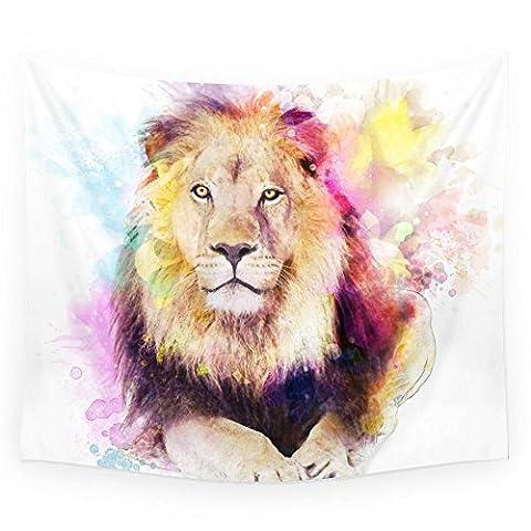 Society6 Sunny Lion Wall Tapestry Small: 51