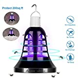 Auledio Camping Lantern and Bug Zapper - LED Tent Light Mosquito Killer Lamp