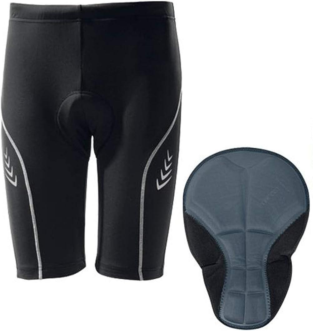 2 x Pairs Lycra Crivit Sports Padded Cycling Shorts Size Medium and Large Unisex