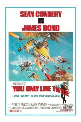 James Bond 007 You Only Live Twice Large Movie Film Poster 61 by 91.5cm by ElitePosters