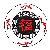 Imoerjia Personalized Wall Clock Quartz Clock Super Silent Wall Clock Stylish 家 in Silence