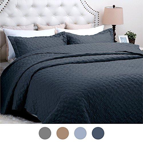quilt cotton queen blue - 7