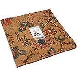 "Betsy Chutchian Grace's Garden 1820-1860 Layer Cake 42 - 10"" Precut Fabric Quilt Squares for Moda, 31550LC"