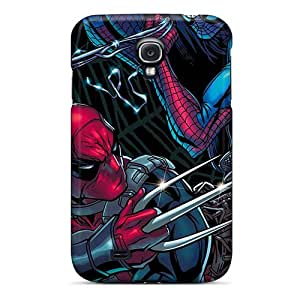 Perfect Hard Cell-phone Case For Samsung Galaxy S4 With Support Your Personal Customized High-definition Deadpool I4 Pattern SherriFakhry
