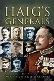 Haig's Generals, Steven J. Corvi, 1844158926