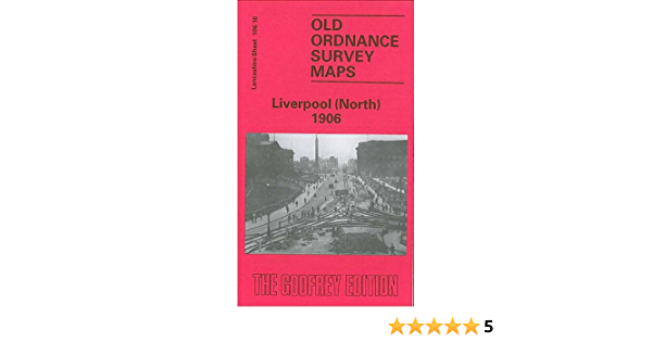 OLD ORDNANCE SURVEY MAP LIVERPOOL NORTH 1890 CONWAY ST VICTORIA SQ EVERTON ROAD