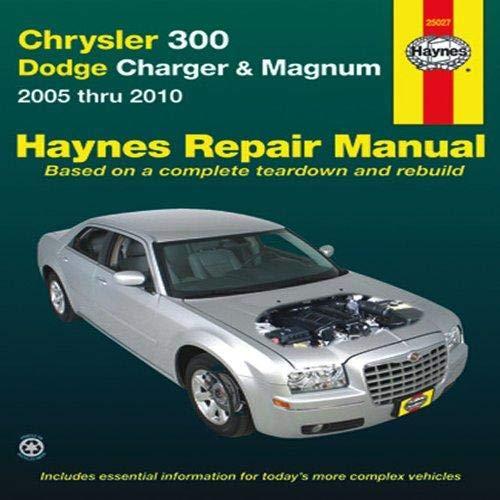 Title Chrysler 300 - Dodge Charger & Magnum: 2005 thru 2010 (Haynes Repair Manual)