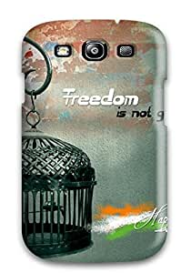 New Www.happy Independence Day.com Tpu Case Cover, Anti-scratch MWwpirT11364hlAIC Phone Case For Galaxy S3 by supermalls