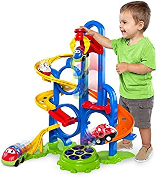 Oball/™ Go Grippers/™ Bounce N Zoom Speedway/™ Track Play Set Ages 24 months