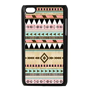 Jumphigh Tribal Ipod Touch 4 Cases Southwestern Tribal Pattern, Tribal, {Black}