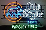 Old Style Bear Beer Neon Sign 24''X20'' Inches Bright Neon Light Display Mancave Beer Bar Pub Garage New