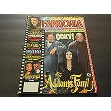 Fangoria #109 Jan 1992, Addams Family, Shock Rock, Clive Barker