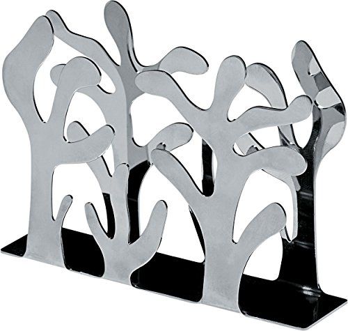 - Alessi Mediterraneo Napkin Holder, Stainless Steel